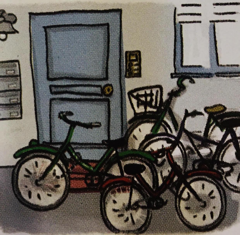 Fahrraeder, Haustuer.jpg