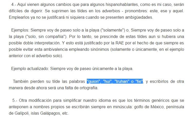 Guión Ya Se Escribe Sin Tilde Guion Wordreference Forums